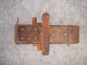 Allis Chalmers Wd Wd45 45 Tractor Ac Gas Tank Mounting Mount Light Bracket Brace