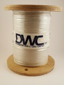 16 Awg White 150c High temperature Appliance Wire Srml 500 Ft