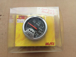 Blitz Racing Meter Dc Boost Gauge Meter 2 5hkpa Black Face Jdm