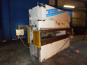 100 Ton X 10 Wysong Cnc 2 Axis Hydraulic Press Brake Sheet Metal Bender