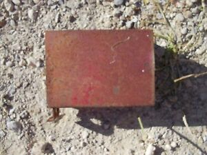 Farmall Cub Tractor Ih Tool Box For Under Seat Original