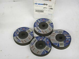 New Partial Box 15 Norton 43218 Bluefire Angle Grinder Wheels 5 X 1 4 X 7 8