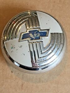 1950 50 Chevy Chevrolet Steering Wheel Horn Button Cap Factory Original Nice