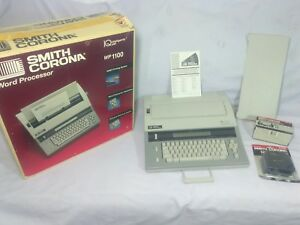 Smith Corona Electric Typewriter Wp1100 Word Processor Spell Right Dictionary