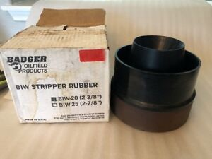 Badger Oilfield Products Biw 20 2 3 8 Stripper Rubber
