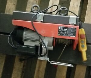 Electric Hoist From Pittsburgh 2000lbs Remote Control