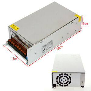 Lighting Transformers Dc12v 50a Driver For Led Strip Light Power Supply 600w