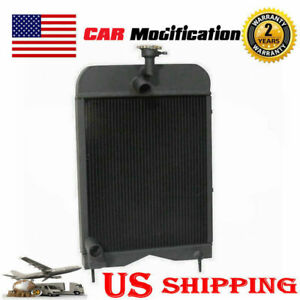 New Aluminum Radiator Fit Massey Ferguson Northern 20 35 135 148 203 205 2135
