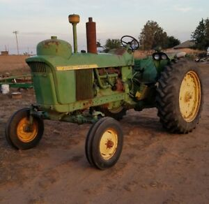 1963 John Deere 4010 Lpg Tractor All Original