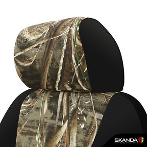 Skanda Coverking Realtree Max 5 Camo Tailored Seat Covers For Toyota Tacoma