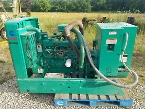 Onan 45em 45 Kw Ford Natural Gas Generator Set 1 Or 3 Phase Lpg Or Natural
