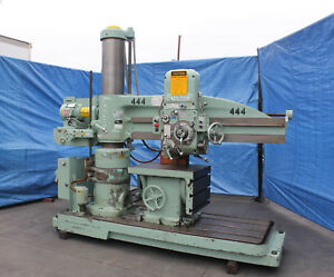 5 Arm X 11 Column Carlton Radial Arm Drill Metal Drilling Milling Machine