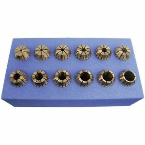 Shark Tools 16 Pc Er25 Collet Set 5 32 5 8 By 32nds