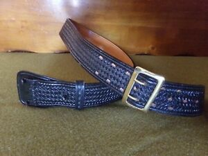 Don Hume Size 40 Leather Duty Belt