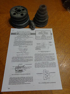 Atlas 6818 Metric Thread Gears All Parts For 10 12 Atlas Craftsman Qc Lathes
