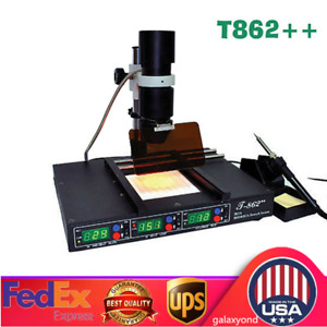 T862 Advanced Bga Rework Station Infrared Heating Smd Smt Irda Welder Machine