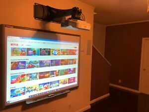 Smartboard Sb 660 And Epson Brightlink 475w With Extras