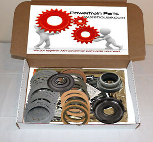 4l60e Master Rebuild Kit W Steels Pistons 2004 Up Chevy Gm
