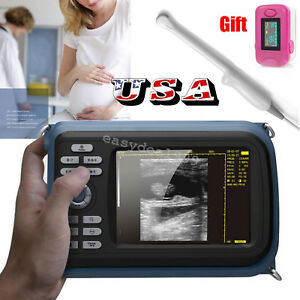 Portable Full Digital Ultrasound Scanner Machine 6 5 Transvaginal Probe oximeter