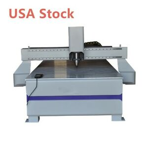 Usa 51 X 98 1325 Cnc Router Wood Engraving Drilling Machine With 3kw Spindle
