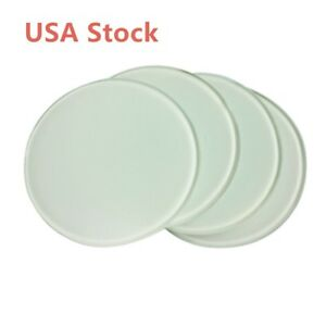 Us Stock 120pcs ctn Diameter 3 9 Round Sublimation Blank Glass Coaster