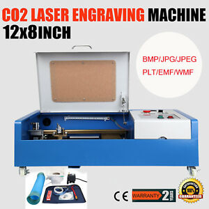 40w Co2 Laser Engraving Cutting Machine Engraver Cutter Usb Port W 4 Wheel