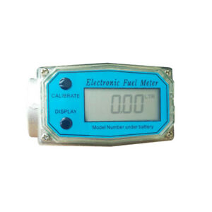 1 Inch Electronic Turbine Flow Meter Methanol Urea Automatic Digital Flow Meter