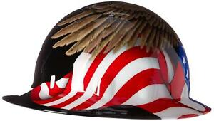 Fibre metal By Honeywelll E1rw00a006 Spirit Of America Full Graphic Brim Safety