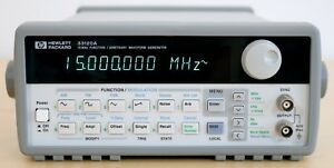 Hp Agilent 33120a 15 Mhz Function Arbitrary Waveform Generator Very Clean