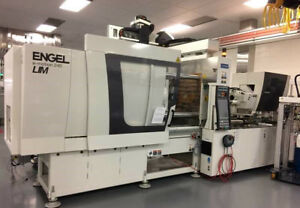 2014 Engel 240 Ton Lsr All electric Injection Molding Machine 500 Hours