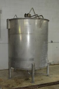 1200 Gallon Stainless Steel Mixing Mix Tank