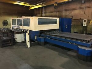 Trumpf Trumatic L3050 5kw Laser Refurbished 2017 Priced To Sell