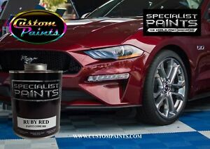 Gallon Of Ford Ruby Red Paint Motorcycle Automotive Hok Ppg Dupont