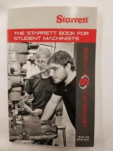 Starrett 1700 Student Book For Machinists