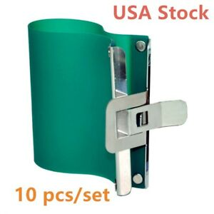 Us Stock 10pcs Sublimation Silicone Mug Wraps For 15oz Mugs 3d Rubber Mug Clamps