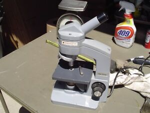 American Optical One sixty Microscope W 43x And 10 25 Objectives