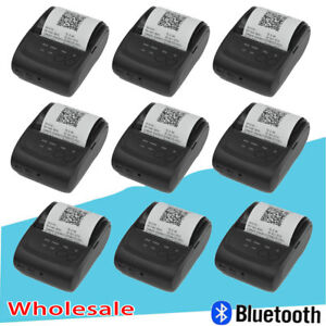 58mm Wireless Bluetooth Usb Thermal Receipt Printer Line Mobile Pos Ios Android