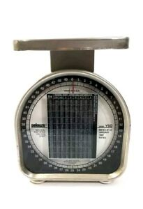 Mechanical Shipping Scale 50 Lbs Capacity Heavy Duty Analog Y50 Pelouze