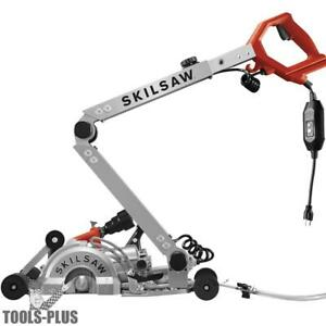 Skilsaw Spt79a 10 7 Medusaw Walk behind Worm Drive Saw For Concrete New