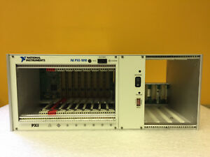 National Instruments Pxi 1010 184826f 01 Pxi Compact Pci Chassis Tested