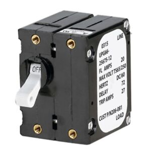 Paneltronics A Frame Magnetic Circuit Breaker 15 Amps Double Pole