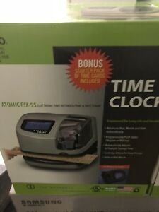 Amano Pix 95 Electronic Time Clock New Sealed
