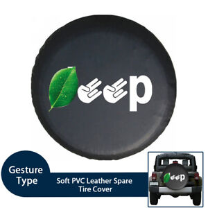 Fingers Spare Tire Cover For Jeep Wrangler Sahara hummer H3 toyota Fj 32 37