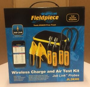 Fieldpiece Wireless Charge And Air Test Kit Jl3kh6