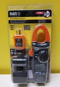 Klein Tools Cl110kit Electrical Maintenance And Test Kit New In Sealed Package