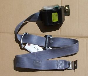 92 93 94 95 96 Ford F150 F250 97 F350 Driver Front Seat Belt Extended Cab Gray