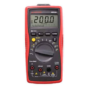 Amprobe Am 530 True rms Electrical Contractor Multimeter 750v Ac 1000v Dc