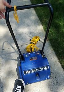 Windsor Grout Hog Commercial Tile Grout Cleaning Machine Runs Great