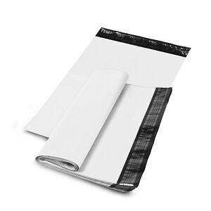 24 X 24 Shipping Envelopes Poly Mailers Sealing Mailing Bags Plastic White