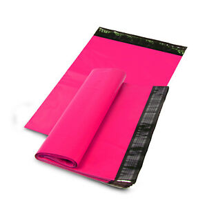 24 X 24 Shipping Envelopes Poly Mailers Sealing Mailing Bags Plastic Hot Pink